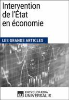 Intervention de l'État en économie (ebook)
