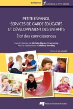 Petite enfance, services de garde éducatifs et développement des enfants (ebook)