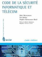Code de la sécurité informatique et télécom (ebook)