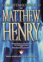 Comentario Bíblico Matthew Henry (ebook)