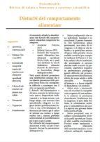 Disturbi del comportamento alimentare (ebook)