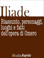 Iliade. Riassunto, personaggi, luoghi e fatti dell'opera di Omero (ebook)