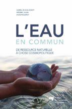 L'eau en commun (ebook)