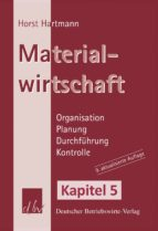Materialwirtschaft - Kapitel 5 (ebook)