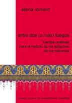 Entre dos (o más) fuegos: fuentes poéticas para la historia de los sefardíes de los balcanes (ebook)