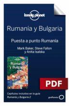 RUMANÍA Y BULGARIA 2. PREPARACIÓN DEL VIAJE RUMANÍA