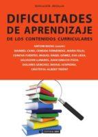 Dificultades de aprendizaje de los contenidos curriculares (ebook)