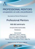 Professional Mentors. Atti del seminario (ebook)