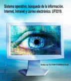 SISTEMA OPERATIVO, BÚSQUEDA DE LA INFORMACIÓN: INTERNET/INTRANET Y CORREO ELECTRÓNICO. UF0319.. (ebook)
