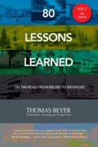 80 Lessons Learned - Volume I - Life Lessons (ebook)