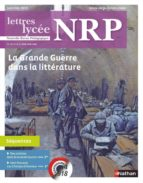NRP LYCÉE - LA GRANDE GUERRE DANS LA LITTÉRATURE - JANVIER 2017 (FORMAT PDF)