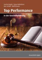 Top Performance in der Geschäftsführung (ebook)