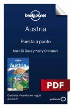 AUSTRIA 5. PREPARACIÓN DEL VIAJE