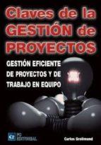 CLAVES DE GESTION DE PROYECTO