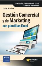 GESTIÓN COMERCIAL Y DE MARKETING CON PLANTILLAS EXCEL