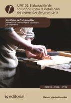 Elaboración de soluciones para la instalación de elementos de carpintería. MAMS0108