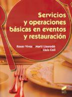Servicios y operaciones básicas en eventos y restauración (ebook)