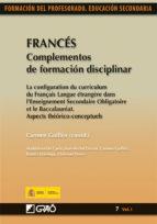 Francés. Complementos de formación disciplinar (ebook)
