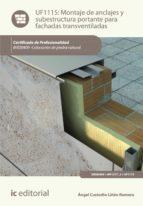 Montaje de anclajes y subestructura portante para fachadas transventiladas. IEXD0409
