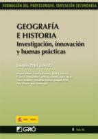 Geografía e Historia. Investigación, innovación y buenas prácticas (ebook)