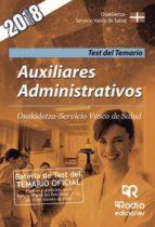 Auxiliares Administrativos. Osakidetza-Servicio Vasco de Salud. Test del Temario (ebook)