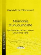 Mémoires d'un journaliste (ebook)