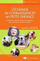 L'échange de connaissances en petite enfance (ebook)