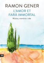 L'amor et farà immortal (ebook)