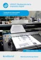 Realización de la impresión digital. ARGI0209 (ebook)