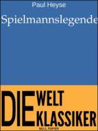 Spielmannslegende (ebook)