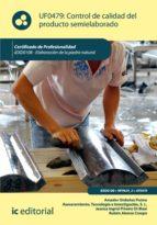 Control de calidad del producto semielaborado. IEXD0108