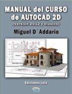 MANUAL DEL CURSO DE AUTOCAD 2D