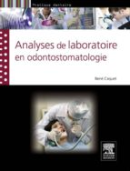 Analyses de laboratoire en odontostomatologie (ebook)