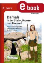 Damals in der Stein-, Bronze- und Eisenzeit (ebook)