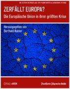 Zerfällt Europa (ebook)