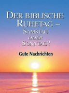 Der biblische Ruhetag (ebook)