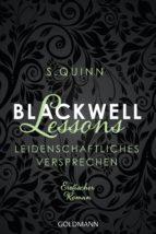 Blackwell Lessons - Leidenschaftliches Versprechen - (ebook)