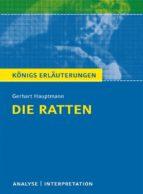 Die Ratten. Königs Erläuterungen. (ebook)