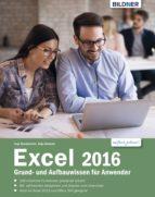 Excel 2016 Grund- und Aufbauwissen für Anwender: (ebook)