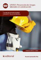 Prevención de riesgos laborales en construcción. EOCB0108