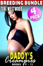 Daddy's Creampies Breeding Bundle : Books 9 - 12 (Taboo Erotica Incest Erotica Daddy Daughter Erotica Breeding Erotica Family Sex Erotica) (ebook)