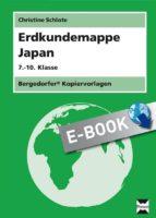 Erdkundemappe Japan (ebook)