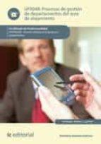 Procesos de gestión de departamentos del área de alojamiento. HOTA0208 (ebook)
