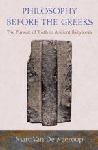 Philosophy before the Greeks (ebook)
