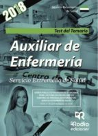 AUXILIAR DE ENFERMERÍA. SERVICIO EXTREMEÑO DE SALUD. TEST DEL TEMARIO