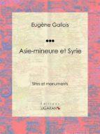 Asie-Mineure et Syrie (ebook)