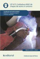 Soldadura MAG de chapas de acero al carbono. FMEC0210
