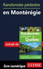 Randonnée pédestre en Montérégie (ebook)