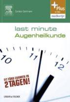 LAST MINUTE AUGENHEILKUNDE
