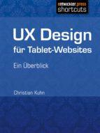 UX Design für Tablet-Websites (ebook)